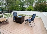 5 RIDGE DRIVE.. BACKYARD DECK