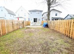 747 Forest St, Back of yard