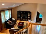 73 Pleasant Pl, Stairs down to lr